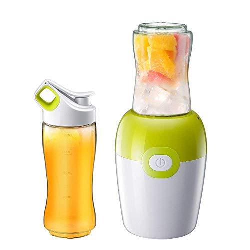 ZWWZ Juicer machines,Household mini juicer minced meat, crushed ice, dry grinding, stirring, stirring, milkshake, juicer (Color : Green) HAIKE (Color : Green)