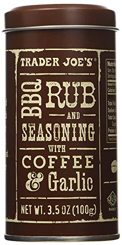 Trader Joe's hhjs BBQ Rub and Seasoning with Coffee & Garlic 2