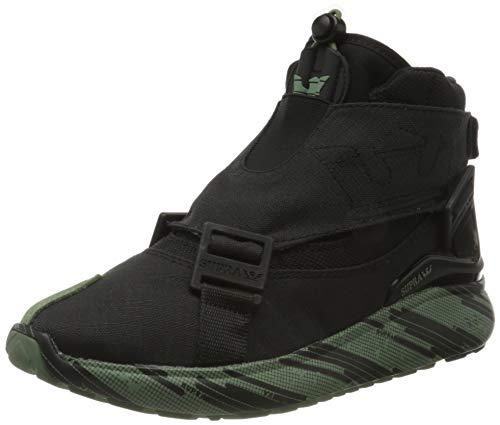 Supra Factor Endure, Zapatillas de Skateboard Unisex Adulto, Negro (Black-Digi Tiger-M 22),...