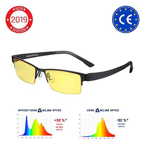 KLIMTM Optics - Gafas para Ordenador Anti luz Azul + Evita la...