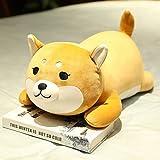 Nette Shiba Inu liegend Hund Plüschtier Stoff Lappen Puppe Bett Kissen Puppe Kind Geschenk Mädchen...