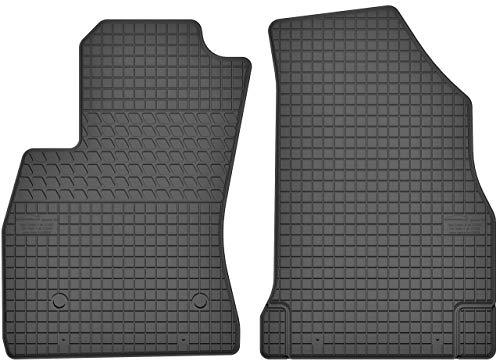 Motohobby Gummimatten Vorne Gummi Fußmatten Satz für Opel Combo D (2011-2018) / FIAT Doblo II (ab 2010) - 2-teilig - Passgenau