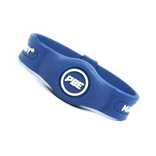 Pulsera de terapia magnética Pro Balance Energy, color azul / blanco