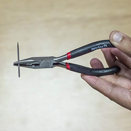 Am-Tech B3180 Alicates de punta de aguja