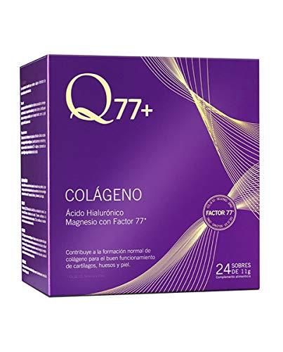 Q77+ COLLAGEN | Kollagentabletten mit Magnesium, Hyaluronsäure, Zink, Factor 77* und Vitamin A, C und K | Ideal für Haar, Nägel, Gelenke und Knochen, 264 g