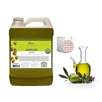 1 gallon of 100% Pure Certified Organic Extra Virgin Olive Oil Cold Pressed