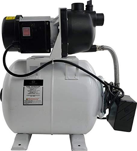 WHITE LABEL Shallow Well Jet Pump - 115VAC, 0.5HP, 950GPH, Wall Plug
