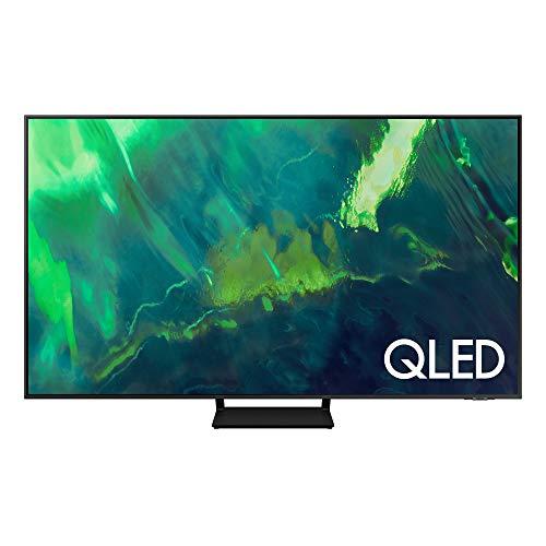 "Samsung QLED 4K 2021 65Q70A - Smart TV de 65"" con Resolución 4K UHD, Procesador QLED 4K con Inteligencia Artificial, Quantum HDR10+, Motion Xcelerator Turbo+, OTS Lite y Alexa Integrada"