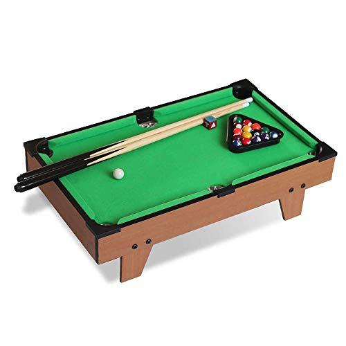 Kinder Billardtisch, Haushalt Billardtisch Eltern-Kind Mini Snooker Tisch Billard Baby Geburtstagsgeschenk Lernspielzeug/Grün / 63x37.5x17cm