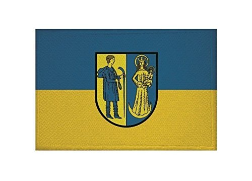 U24 Aufnäher Waldshut-Tiengen Fahne Flagge Aufbügler Patch 9 x 6 cm