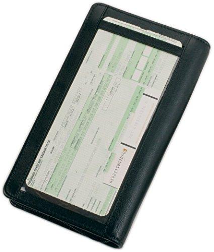 Alassio Reiseorganizer aus Echt Leder/41000 22,5 x 13 x 3 cm schwarz