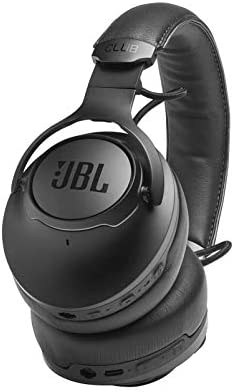 JBL CLUB ONE – Premium Wireless Over-Ear Headphones with Hi-Res Sound Quality Adaptive Noise Cancellation and EQ Customization – Black (Renewed)