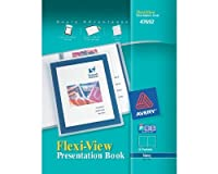 Avery Flexi-View Presentation Book Blue 12-Page Book (47692) [並行輸入品]