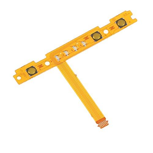 Sharplace Joy-Con Contrôleur Trigger Button L Remplacement Câble Plat Câble de Clé pour la Console de Commutateur de Nintendo