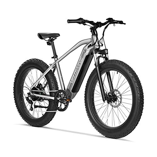 VELOWAVE Electric Bike Adults 750W BAFANG Motor 48V 16Ah Lithium-Ion Battery Removable 26'' Fat Tire Ebike 25MPH Snow Beach Mountain E-Bike Shimano...
