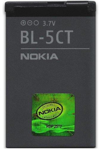 Nokia BL-5CT Batterie/Akku Grau - Handy-Ersatzteile (Batterie/Akku, Grau, Lithium-Ion (Li-Ion), 1050 mAh, 3,7 V, Nokia 3720 Classic / 5220 XpressMusic / 6303 Classic / 6303i Classic / 6730 Classic)