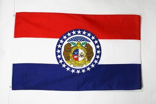 AZ FLAG Drapeau Missouri 90x60cm - Drapeau Etat américain - USA - Etats-Unis 60 x 90 cm - Drapeaux