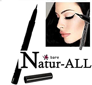 EYE LINER LIQUID - BLACK - Organic, Vegan and Gluten, Carnine FREE