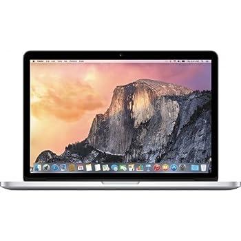 "Apple MacBook Pro Retina 13"" ME662LL/A / Intel Core i5 2.6 GHz / RAM 8 GB / 250 GB ssd / UK Clavier (Reconditionné)"