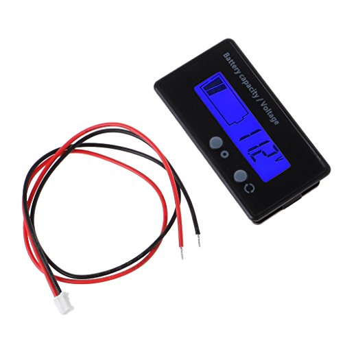 Learn More About XIANSHI 8-70V Blue LCD Acid Lead Lithium Battery Capacity Indicator Voltmeter Gauge...