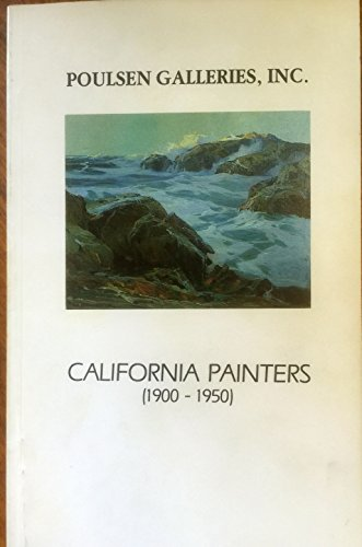 California Painters: 1900-1950