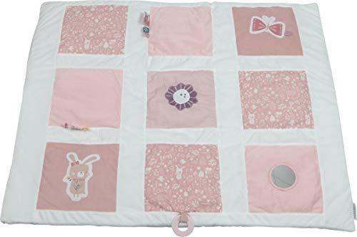 LITTLE DUTCH 4601 Activity-Krabbeldecke adventure pink Gr. 85x100 cm