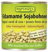 Rapunzel Bio Sojabohnen Edamamé in der Dose, 1er Pack (1 x 200g) - BIO
