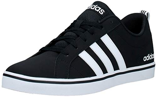 adidas Vs Pace, Scarpe da Ginnastica Mens, Core Black/Ftwr White/Core Black, 42 2/3 EU