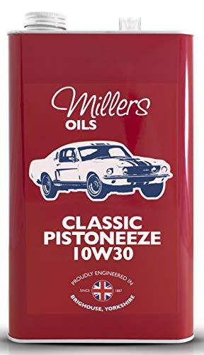Millers Oil Classic Pistoneeze 10w30 Minerale Motorolie, 5 liter