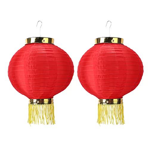 SoeHong 2 unids linterna china redonda colgante boda cumpleaños fiesta decoración DIY linterna colgante año nuevo decoración
