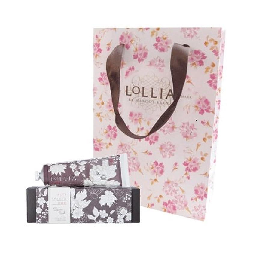 ルーチン評価可能食堂ロリア(LoLLIA) ハンドクリーム InLove 35g(手肌用保湿クリーム アップルブロッサム、ジャスミン、ローズのフルーティで爽やかな香り) ショッパー付