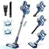 Cordless Vacuum Cleaner with LED Display, 20000Pa Stick Vacuum 4 in 1, Lightweight, Up to 30 Minutes...