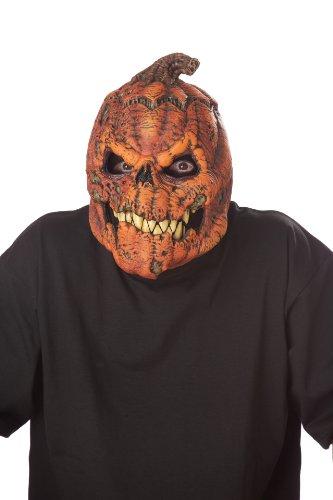 Unbekannt Générique Mahal802–Maske Erwachsene, Kürbis, erschreckend–Einheitsgröße