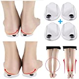 Orthopedic Insoles for Correcting O/X Type Leg Shoe Inserts, 2 Pairs Built in Magnetic Heel Shoe Cushions for Foot Alignment, Knock Knee Pain, Bow Legs …