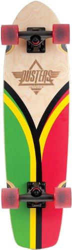 Duster Komplett Skateboard Cruiser Flashback, Rasta, 11614175