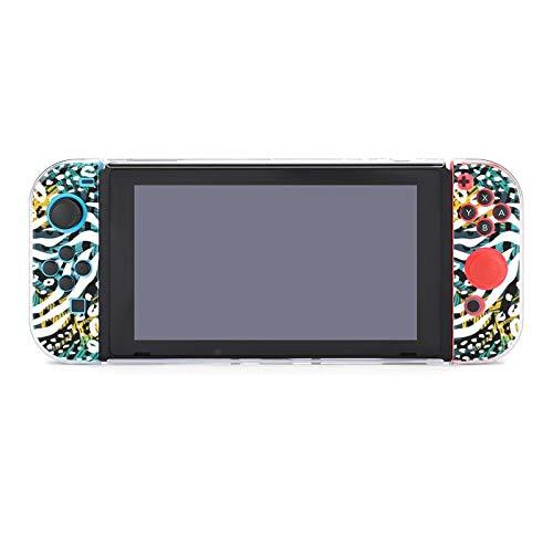 Funda protectora de PC antiarañazos para Nintendo Switch compatible con interruptores y...