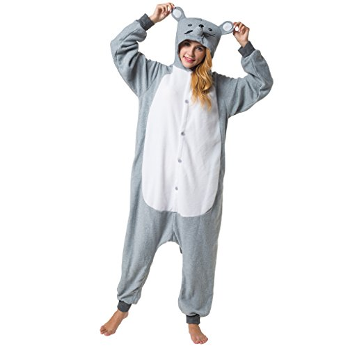 Katara (10+ Modelos) Kigurumi Pijamas Disfraz Animal Halloween Adultos  Ratón Talla 155-165cm , color/modelo surtido