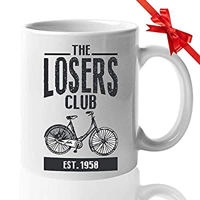 Horror Movie Coffee Mug - The Losers Club - Inspired Quotes Film Cinema Film Book Mystical Pennywise The Dancing Clown Derry Actor Actress Fan