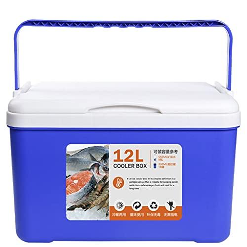 LZL 2 9QT Cofre de Hielo y Enfriador de cohere Las Actividades al Aire Libre, refrigerador rotomoldeado para Acampar, Senderismo, Picnic, Cama Y Desayuno QS, Pesca, Viajes (tamaño : 12l)