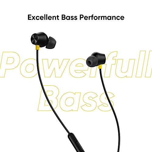 realme Buds 2 Neo in-Ear Wired Earphones with HD Mic for Android Smartphones (Black)