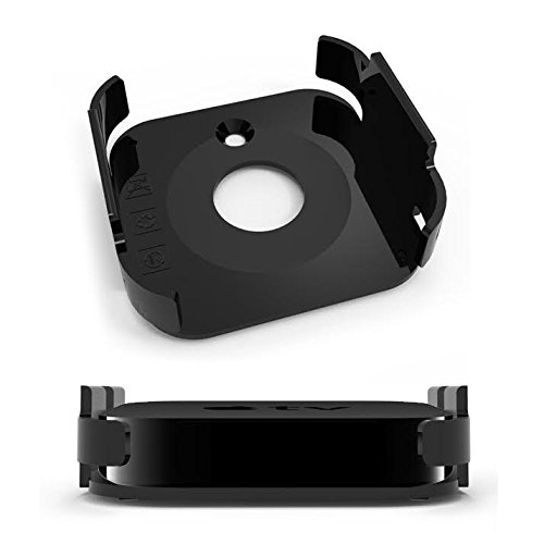 KHOMO® Wall and TV Mount Kit for Apple TV 2 / Apple TV 3 (2nd and 3rd Generation)