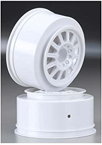 JConcepts 3322 Rulux Slash Rear Wheel Weiß (2) by J Concepts