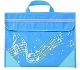Musique : Wavy Stave Music Bag (Light Blue)