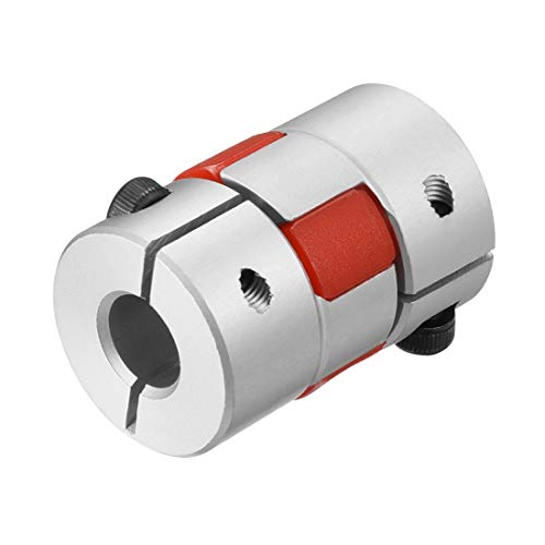 uxcell Shaft Coupling 6mm to 8mm Bore L30xD20 Flexible Coupler Joint for Servo Stepped Motor