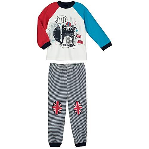 Petit Béguin - Pyjama garçon manches longues Cool London - Taille - 4/5 ans