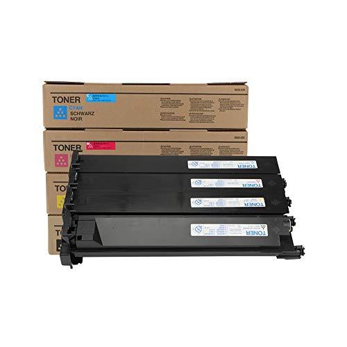 AAMM TN213 Toner Box für Konica Bizhub C203 253 7721, Geeignet für Digitalkopierer, Version mit großer Kapazität, 23000 Seiten in Farbe-4-color