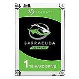 Seagate Barracuda ST1000DM010 Interne Festplatte für Desktop PC, NAS (8,9 cm (3,5 Zoll), 64 MB Cache, 7200RPM, SATA-III 6Gb/s) (Generalüberholt), Kapazität:1.000GB (1TB)