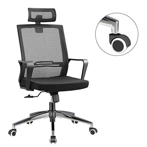 Office Chair High Back Executive Computer Desk Chair, Adjustable Tilt Angle...