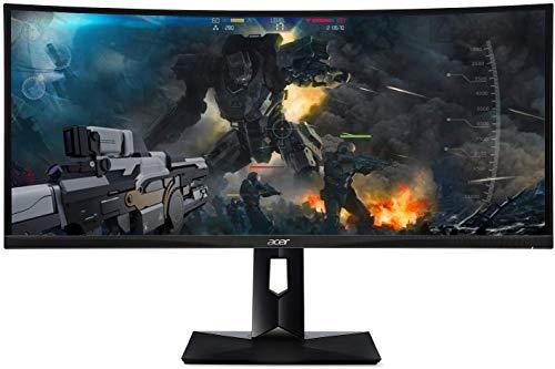 Acer CZ340CK A Curved Gaming-Monitor 86,36cm (34 Zoll)(UWQHD, IPS, HDMI, DisplayPort, USB, sRGB, 100Hz, AMD FreeSync)