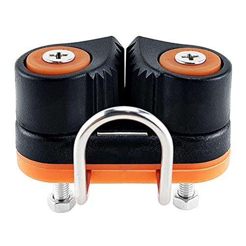 LXZDZ Cap COMPUESITE CLAIN RODAMIENTO DE Balla DE Aluminio DE Aluminio DE Aluminio para 3-12 MM Cuerda Marina Barco Saling Kayak Entrada rápida Ropié